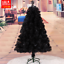 UPS-3-Days-3-4-5-6-7-8-ft-Black-Artificial-Christmas-Tree-Indoor-Home-Decoration thumbnail 15