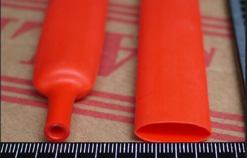 6.5Feet Red double-wall heat shrink tubing 12.7mm 3:1 adhesive tube