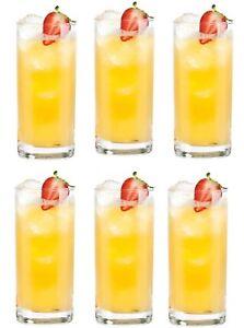 Box-of-6-Norland-cocktail-Mojito-highball-glasses-tall-Glasses-500ml-17-1-4-oz