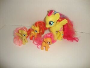 My Little Pony Lot Of 4 Pony Figures Ebay