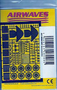 Airwaves 1/48 Wwi Accessoires Gravé Détails Ac-48-08 ** Envoi Gratuit Avec Kit **-afficher Le Titre D'origine