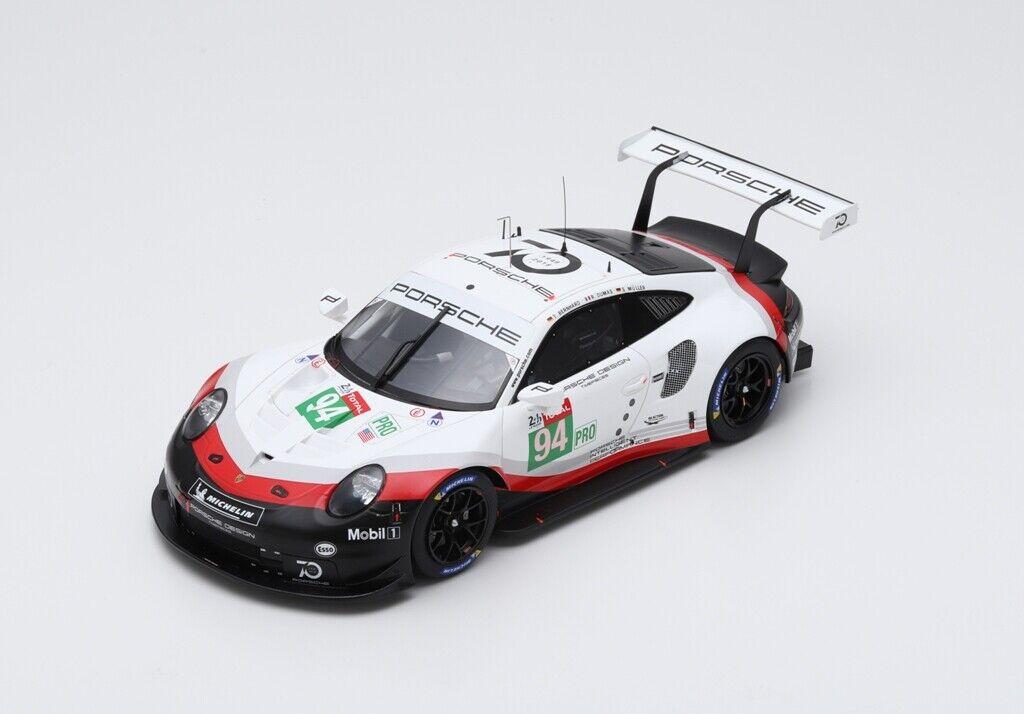 risparmiare sulla liquidazione Porsche 911 991 Rsr    94 24H Le uomos 2018 Dumas Bernhard Muller SPARK 1 18 18S404  comodamente