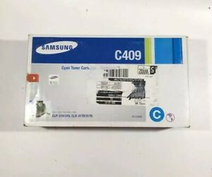 Samsung-C409-Cyan-Toner-Cartridge-CLP-310-315-CLX-3170-3175-Sealed
