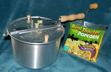 BRAND NEW WABASH VALLEY FARMS WHIRLY POP STOVETOP POPCORN POPPER!!