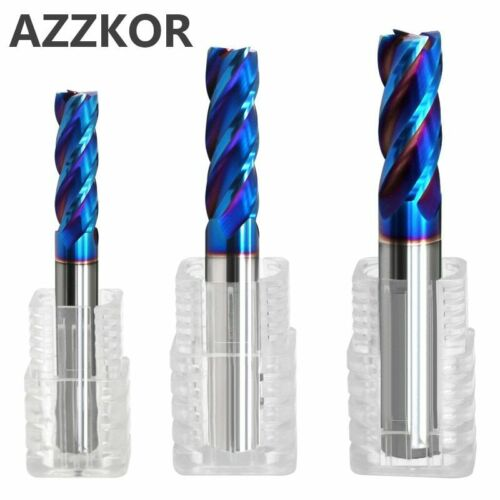 Milling Cutter Alloy Coating Tungsten Steel Tool Cnc Maching Hrc70 Endmill