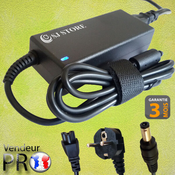 Actief Alimentation / Chargeur For Medion Msn:30012917 Msn:30012920