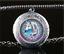 Celtique-Licorne-Photo-cabochon-verre-Tibet-Argent-Medaillon-Collier-Pendentif miniature 1