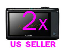 2x Clear LCD Screen Protector Guard For Canon PowerShot ELPH 510 HS
