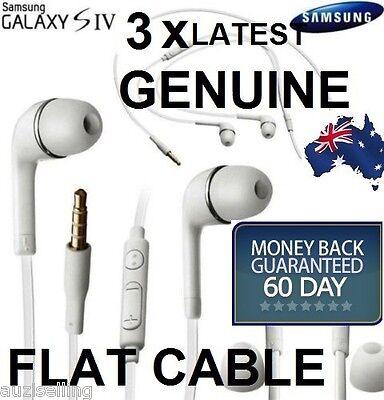 3X GENUINE Handsfree Headphone Earphone for Samsung Galaxy S3 S4 S5 S6 Note 3