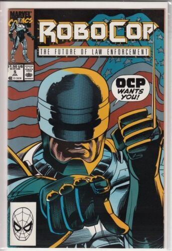 Alan Grant Robocop Issue 5 July 1990