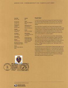 0627-39c-Purple-Heart-4032-USPS-Souvenir-Page
