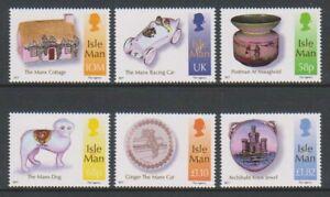 Isle-of-Man-2012-Kelly-Collection-of-Manx-set-MNH-SG-1749-54