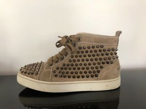 the latest af05a 11bb2 Details about Christian Louboutin spiked high top trainers, Womens size 3UK  (36EU)