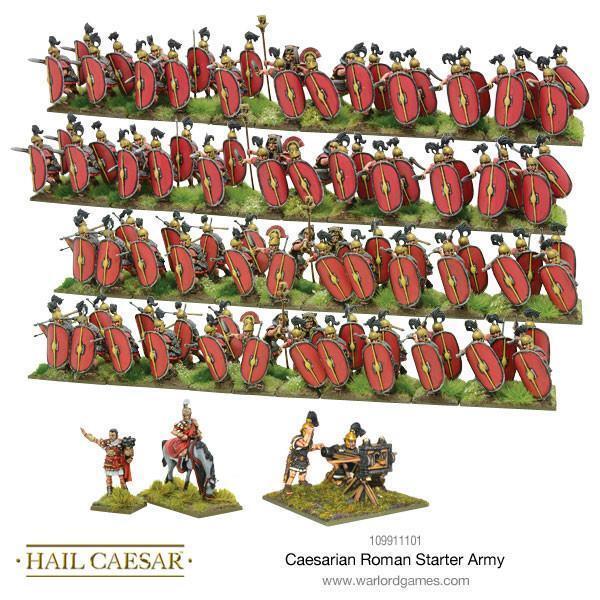 Heil Caesar Caesarian Römische Startarmee Box Warlord Games