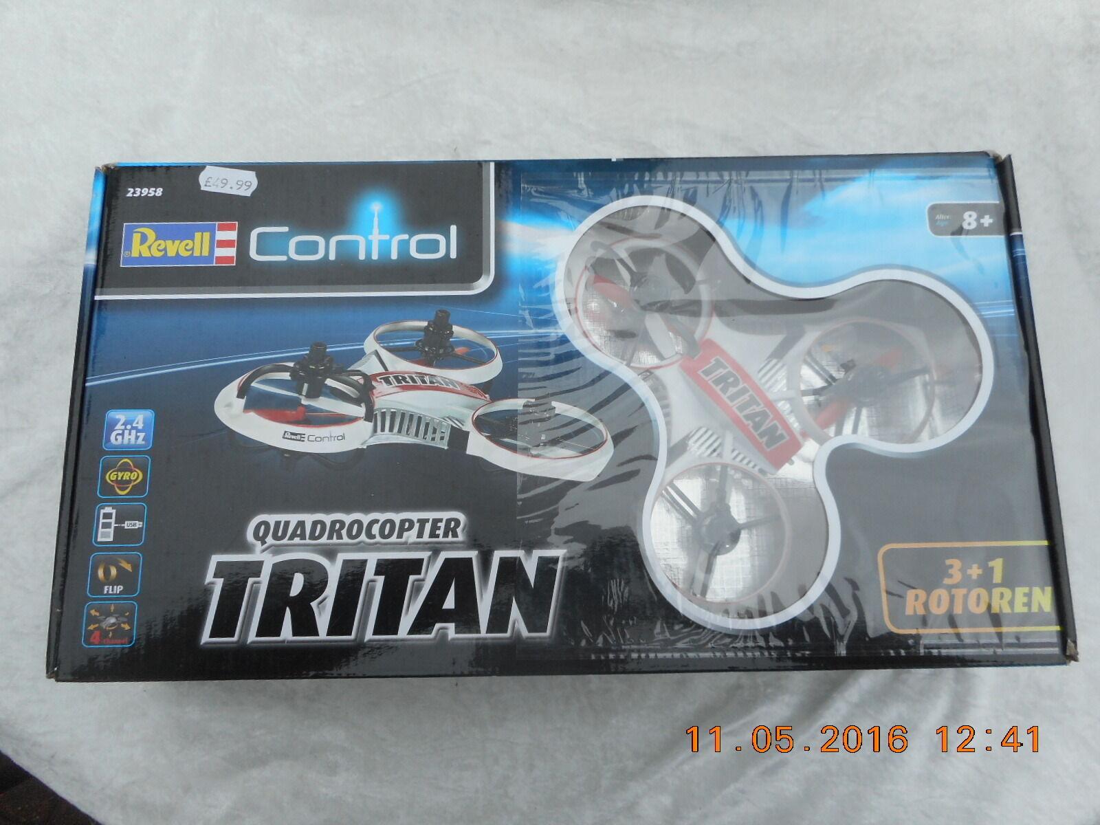 REVELL CONTROL QUADROCOPTER TRITAN (23958)