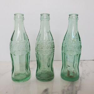 Vintage-Coca-Cola-Bottle-Lot-Chicago-Illinois-Hobble-Skirt-1950-1956-Pat-D
