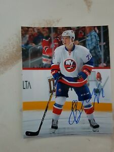 Anthony-Beauvillier-Signed-New-York-Islanders-8x10-Photo-Autographed