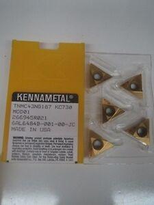 KENNAMETAL CDG120302R #97 CDGS40762R KC730 5 NEW INSERTS
