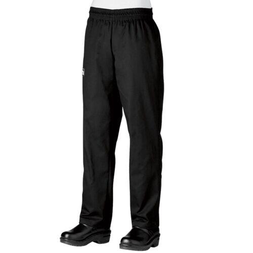 Chefwear 3950-30 Women/'s 4-Star Low Rise Chef Pant Black XS-5XL New!