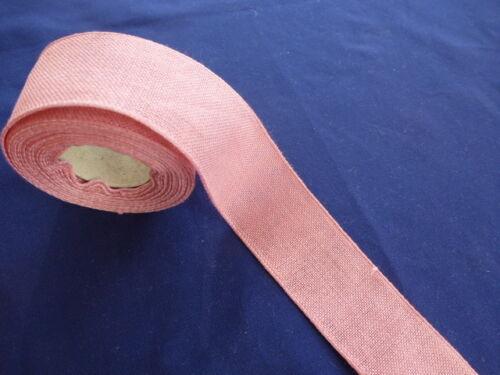 Leinenband 40mm large rico-Design 17582-40 lin bandes 2 couleurs