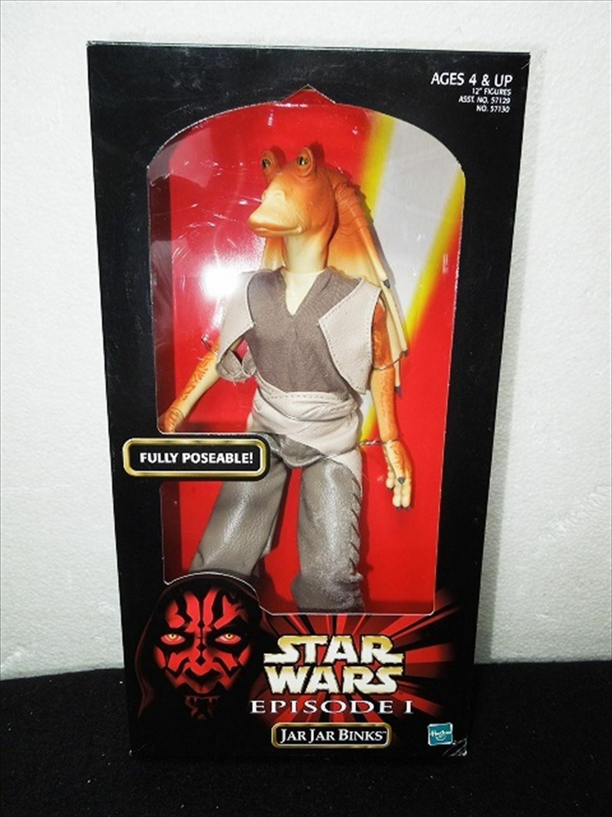 TOMY Star Wars Episode 1 Jar Jar Binks 12 inch figure from JAPAN F/S