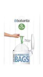 NEUF-BRABANTIA-Sacs-Poubelles-Taille-G-23-30-L-40-sacs