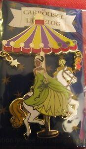 Disney-Pin-Tiana-Carousel-Ltd-Edition-700-Disneyland-Paris-Pin