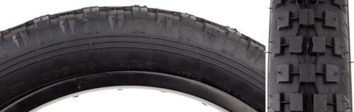 Sunlite Knobby CST93 pneu Sunlt 16x2.125 Cst93 BK//BLK Knobby
