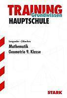 Training Grundwissen Hauptschule. Mathematik Geometrie 9. Klasse