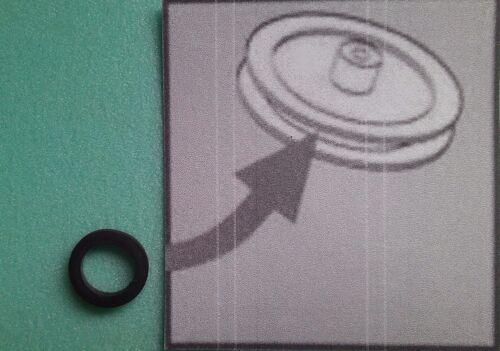 Idler Tire Rubber Zwischenrad-Gummi für CROWN CSC-960L Radio Recorder Boombox