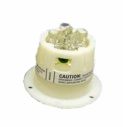 Hubbell HBL2435 NEMA L16-20 AC Flanged Inlet 480V NEW