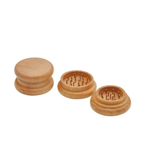 Holz Grinders Herb Tabak Spice Herb Grinder Pollen Mühle Kräutermühle Mini Tool