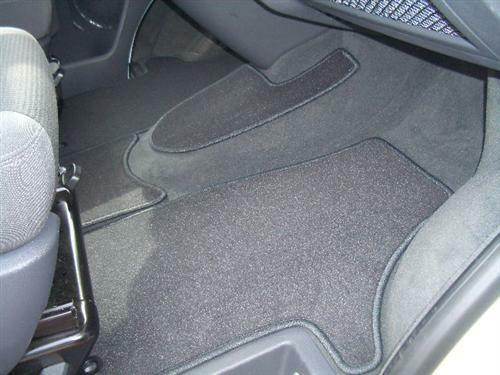 Fußmatten 4-teilig Velour anthrazit VW T5 Bus California Coach