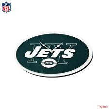 New NFL New York Jets 3-D Foam Wall Clock Made in USA by FoamFanatics