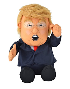 With Animated Hair-10.5 Pull My Finger Farting Donald Trump Plush Figure Doll