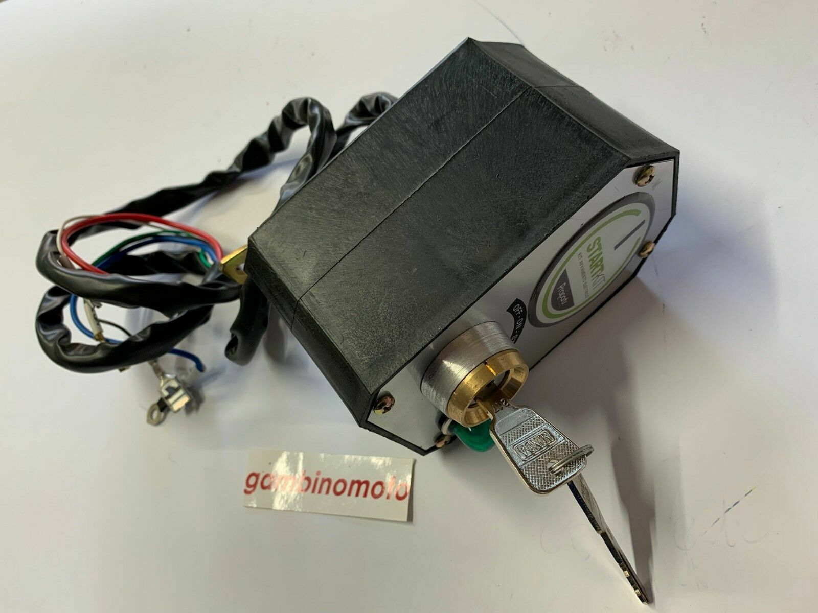 Kit Block Bilder Schlüssel Elektrostarter für Motorhacke FC Motocoltivatore