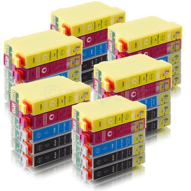 30 kompatible Patronen für Epson Stylus SX125 SX435W SX130 SX420W Office BX305F