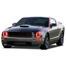 Ford Mustang 05 09 Chs Multi Color Led Headlight Halo Ring Rf Kit Fits Mustang