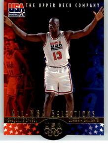 1996-Upper-Deck-USA-18-Shaquille-O-039-Neal