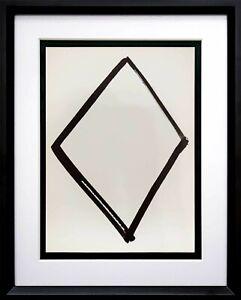 Ellsworth KELLY Lithograph ORIGINAL Diamond Form 1964 LIMITED Ed. w/Custom Frame