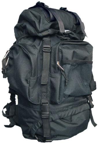 Ic Sac à Dos Tactical 65 L Noir Kaki Camouflage Trekking Sac à dos randonnée