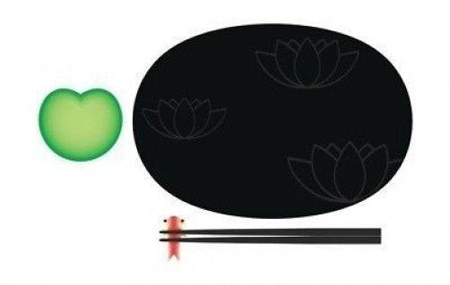 A di Alessi - ASG90 SET - Lily Pond, Sushi set