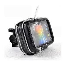 Motorcycle Handlebar Mount & Waterproof Case For Garmin Nuvi 57LM 58LM Sat Nav