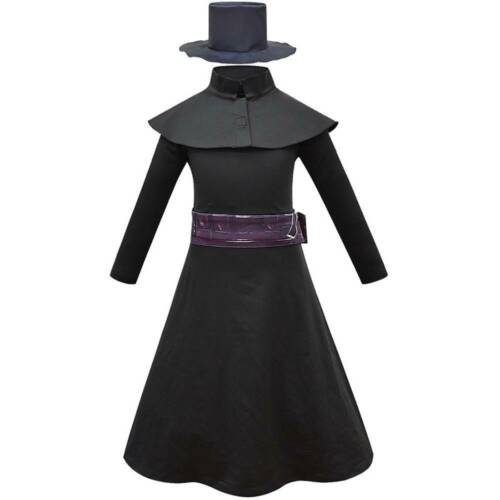 Halloween Kids Boys Steampunk Plague Doctor Cosplay Costume Party Fancy Dresses