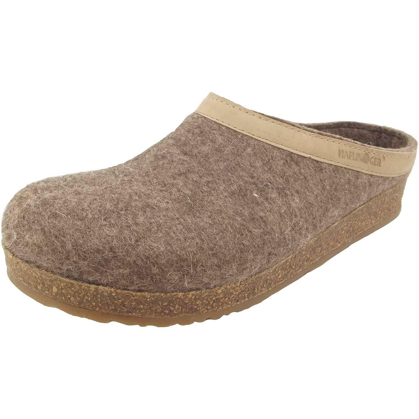 Haflinger Grizzly Torben Unisex Pantoffeln beige (torf)