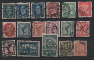 Germany 1924-27 fine used collection WS21939