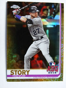 2019-Topps-Update-Chrome-Trevor-Story-Colorado-Rockies-Gold-Baseball-Card-37-50