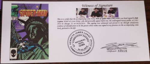1985 Web of Spider-Man #28-115 Annual #4-10 SIGNED Saviuk Williams Bagley more