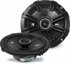 """4) Kicker DSC650 120W RMS 6.5"""" 2-Way DS Coaxial Car Stereo Speakers (2 Pairs)"""