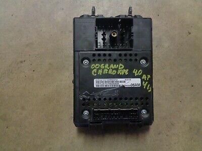 99 00 01 02 03 04 Jeep Grand Cherokee Fuse Box Panel ...